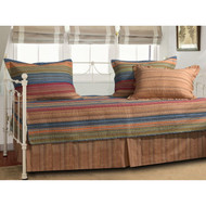 Reversible 5-Piece Daybed Set with Bed-skirt and Three Pillow Shams 5PGH5998C