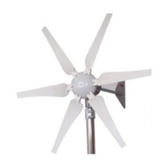 400-Watt 12-Volt 6-Blade Wind Generator with Charge Controller GC400W12V6B