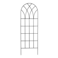 60-inch Gothic Arch Top Metal Wall Trellis for Home Garden GT359481