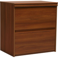 2-Drawer Lateral File Cabinet in Contemporary Plum Finish ALFP15243