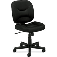 Black Task Chair Office Chair with Padded Seat BTCB75991-3