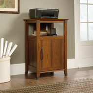 Cherry Finish Printer Stand with Open Shelf - Made in USA STPS116953
