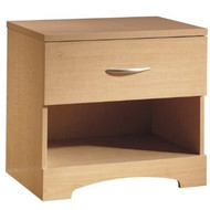 1-Drawer One Shelf Nightstand / Night Table in Natural Maple SSOCNT69