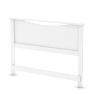 Full size Headboard in White Wood Finish FWH8901