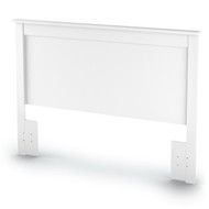 Full/Queen size Headboard in White Finish SVFQWH86