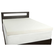 King size 4-inch Thick Memory Foam Mattress Topper - Made in USA CRMFTK17426