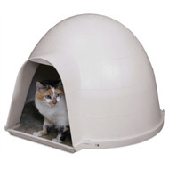 Durable Cat Condo House Igloo with Carped Floor - Made in USA PKC5198415841