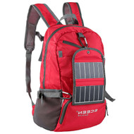 Red 3.25 Watt Solar Backpack Cell Phone Tablet Battery Charger RFBC5198712