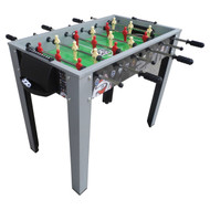 Soccer-Themed 40-inch Foosball Table with Manual Scoring EPMJLB5198241