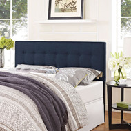 Full size Navy Fabric Modern Upholstered Headboard NFUHDB98542