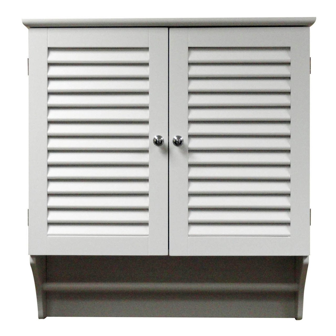 Wall mounted bathroom cabinet with shelves and towel bar - Bathroom wall cabinet with towel bar ...