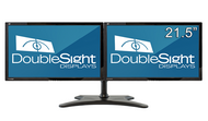 """Dual 21.5"""" Wide LCD Monitors (16:9), 1920X1080, with Flex Stand DS-2200WB-3"""