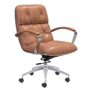 Avenue Office Chair Vintage Coffee -100446-1