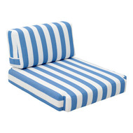 Bilander Arm Chair Cushion Blue & White -703565-1