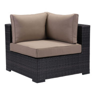 Bocagrande Corner Chair Brown -701623-1