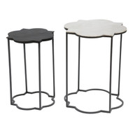 Brighton Accent Table Black & White -405007-1