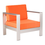 Cosmopolitan Arm Chair Cushion Orange -703650-1