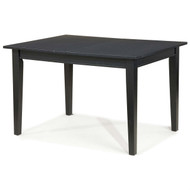 Space Saving Expandable Dining Table 48-66-inch in Ebony Black Wood Finish HSCDT5198415