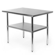 Heavy Duty Stainless Steel 2 x 3 Ft Kitchen Prep Table- GHYCGD587481
