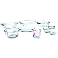 15-Piece Glass Bakeware Set - Dishwasher Oven Microwave & Freezer Safe AHBS5198151