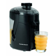 Hamilton Beach Juice Extractor Juicer in Black HBHSJEB