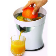White Electric Citrus Juicer with Stainless Steel Screen TCJ4995