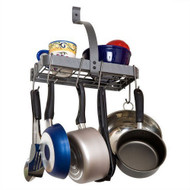 Wall Mounted Kitchen Storage Shelf Pot Rack with Drywall Anchors EPS5953