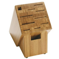 11-Slot Knife Block - Renewable Bamboo - NonSlip Feet S11SBB5995