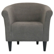 Graphite Grey Modern Classic Upholstered Accent Arm Chair Club Chair GECH6519841