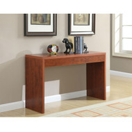 Cherry Finish Sofa Table Modern Living Room Console Table CST78581