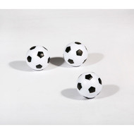 Pack of 3 Black/White Soccer Ball Style Foosballs by Hathaway MBWF98498