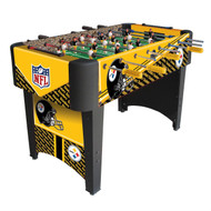 Foosball Table with NFL Pittsburgh Steelers Design PSFT14998