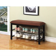Hallway Entry Bedroom Storage Bench Shoe Rack Organizer KBHB67501