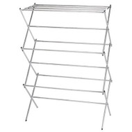 Folding Clothes Drying Rack in Chrome - Air Dry your Laundry HEFCDR2799