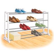 4-Tier Shoe Rack - Holds up to 20 Pair of Shoes LSR1954578