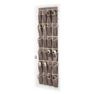 Door Hanging Shoe Rack Organizer with 24 Shoe Pockets in Java WJSO198241
