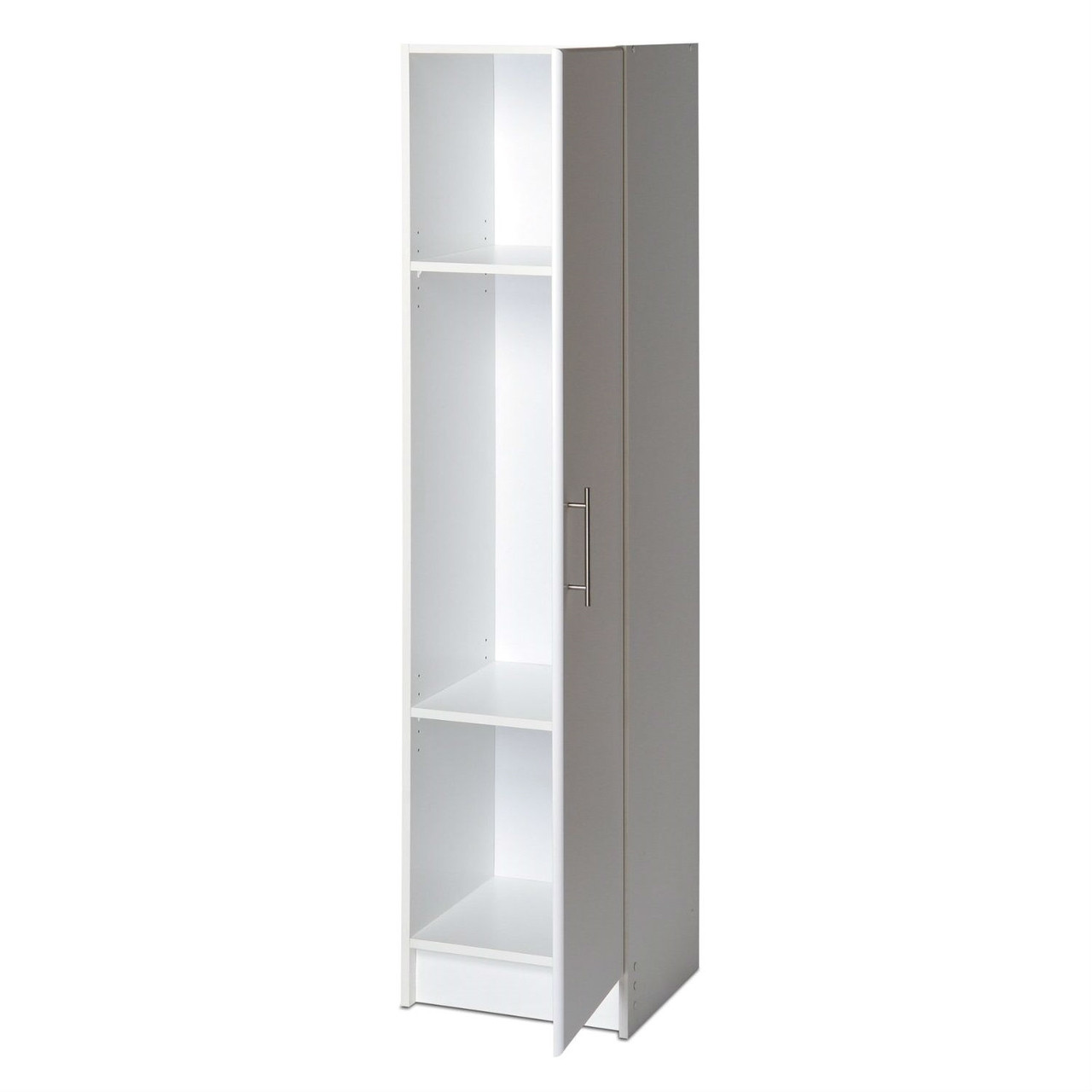 tall white storage cabinet white storage cabinet for brooms and mops 27080