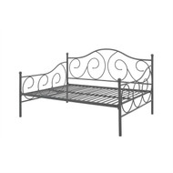 Full size Metal Daybed Frame Contemporary Design Day Bed in Bronze Finish VDF2295181