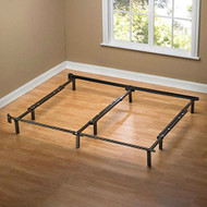 Queen size 9-Leg Metal Bed Frame with Headboard Brackets and Center Support QMBF9651847