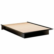 Full size Contemporary Platform Bed in Black Finish SFBPB12901