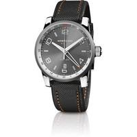 Montblanc TimeWalker Voyager UTC Steel Watch 109137