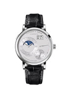 A. Lange & Sohne Grand Lange 1 Moon Phase Platinum Watch 139.025