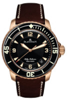 Blancpain 50 Fathoms Automatic Brushed Red Gold Watch 5015A-3630-63B