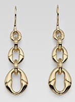 Gucci Bamboo Earrings Gold