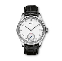 IWC Portuguese Manual Silver-Plated Dial 8 Days SS Watch IW510203