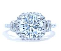 3.08 Ct Round Brilliant Diamond Ring