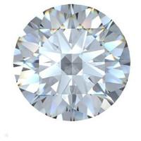 2.60 Ct. Round Brilliant Diamond H/si3