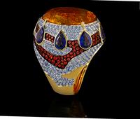 Mousson Atelier Ladya Goldc Citrine Ring R0045-0/6