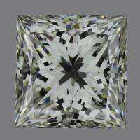 1.5 Carat I/VVS1 GIA Certified Princess Diamond