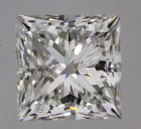 1.7 Carat F/VS2 GIA Certified Princess Diamond